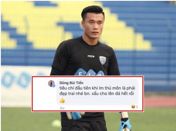 Tiêu chí làm thủ môn phải đẹp trai, Bùi Tiến Dũng tạo áp lực với đồng nghiệp được bổ sung lên tuyển Việt Nam chuẩn bị cho AFF Cup  - Ảnh 1.