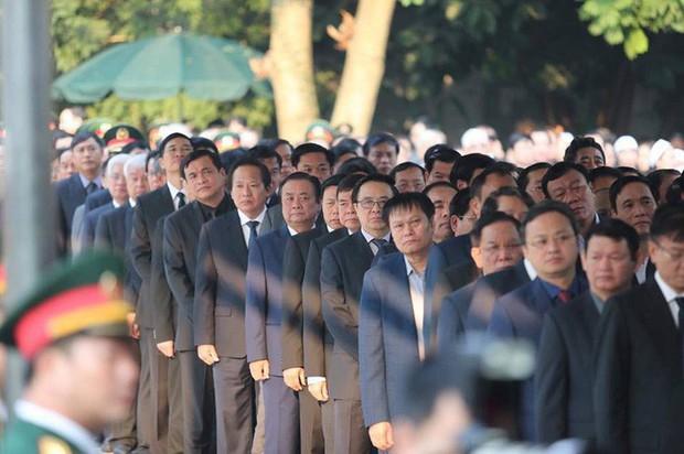 Lễ viếng nguyên Tổng Bí thư Đỗ Mười - Ảnh 12.