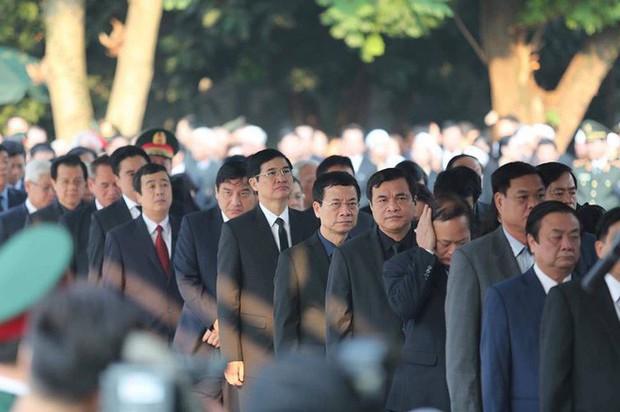 Lễ viếng nguyên Tổng Bí thư Đỗ Mười - Ảnh 13.