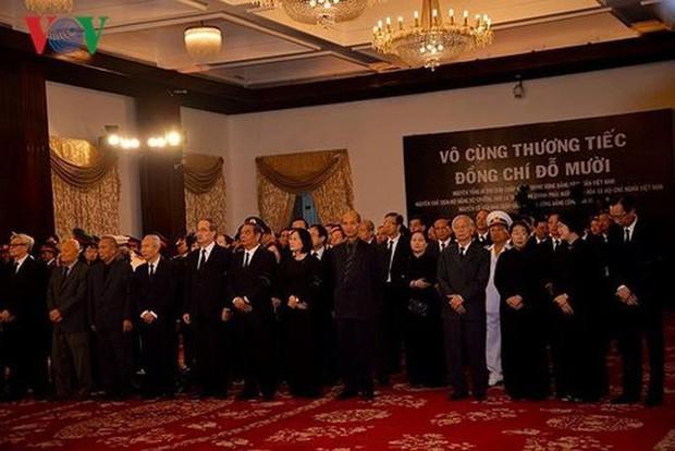 Lễ viếng nguyên Tổng Bí thư Đỗ Mười - Ảnh 18.