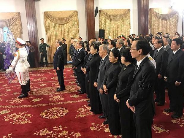 Lễ viếng nguyên Tổng Bí thư Đỗ Mười - Ảnh 19.