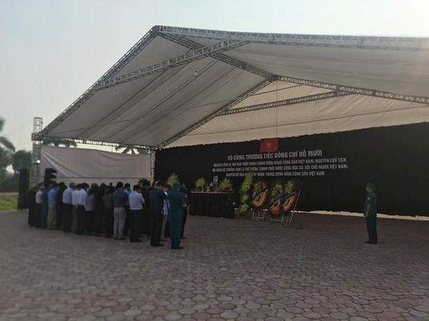 Lễ viếng nguyên Tổng Bí thư Đỗ Mười - Ảnh 20.