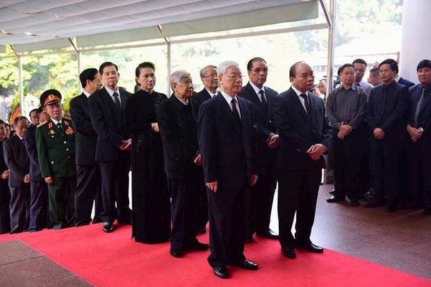 Lễ viếng nguyên Tổng Bí thư Đỗ Mười - Ảnh 7.