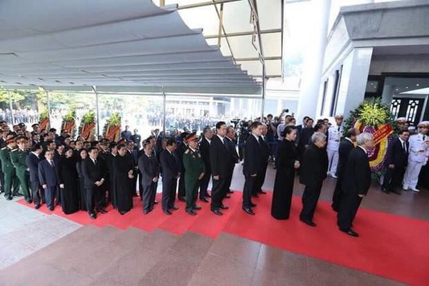 Lễ viếng nguyên Tổng Bí thư Đỗ Mười - Ảnh 8.