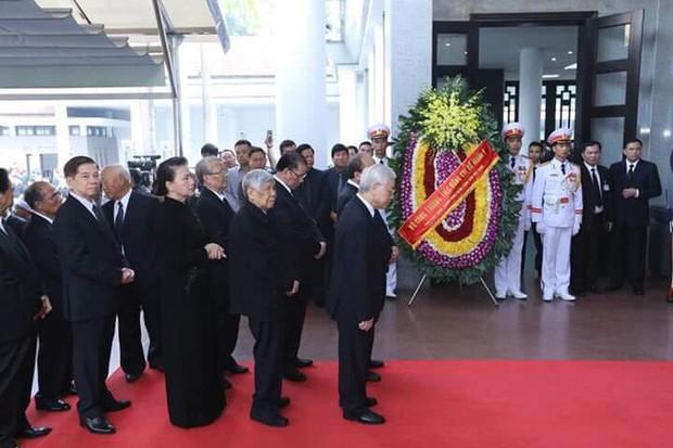Lễ viếng nguyên Tổng Bí thư Đỗ Mười - Ảnh 9.