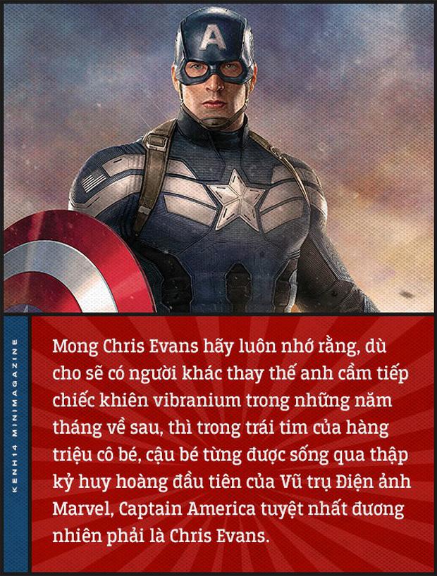Tạm biệt Chris Evans và chàng Captain America tuyệt nhất thế gian! - Ảnh 19.