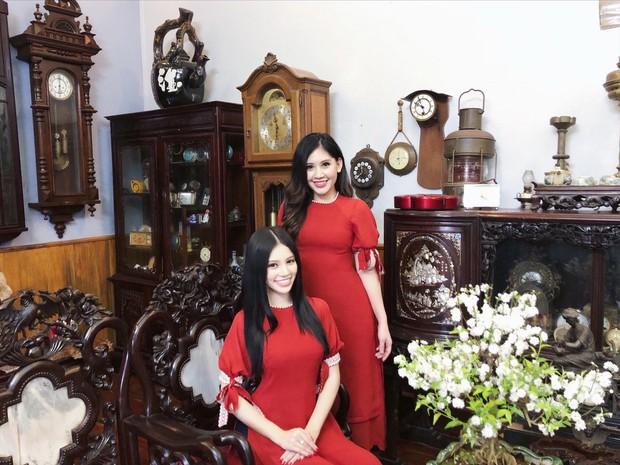 Lộ diện cô em họ tài năng, xinh đẹp của Hoa hậu con nhà giàu Jolie Nguyễn - Ảnh 1.
