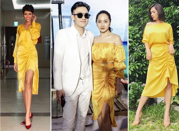 Muốn thành cao thủ mặc đẹp? Bạn hãy nhìn cách H'Hen Niê, Bảo Anh và Ái Phương cùng diện 1 chiếc váy - Ảnh 7.