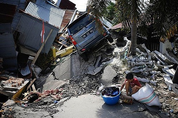 Liên Hợp Quốc huy động hơn 50 triệu USD cứu trợ khẩn cấp Indonesia - Ảnh 1.