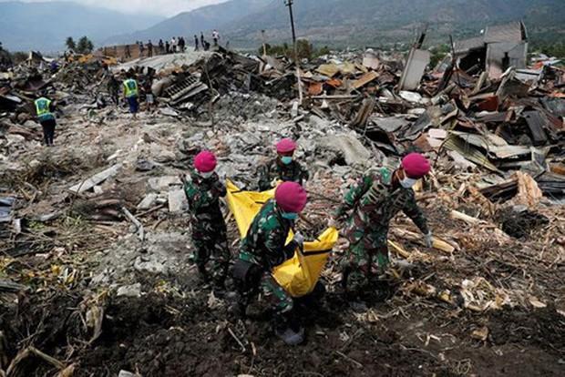 Indonesia ngừng tìm kiếm nạn nhân trận động đất và sóng thần vào 11/10 - Ảnh 1.