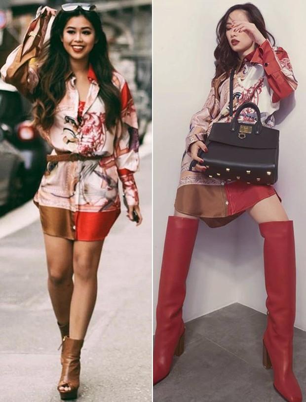Mẹ chồng Hà Tăng đụng Nicki Minaj, riêng cô nàng Đệ nhất Rich Kid Việt thì có màn so dáng với Jun Vũ - Ảnh 8.