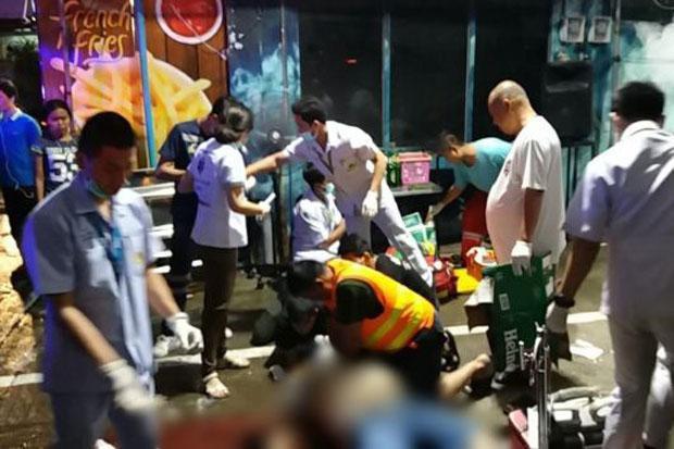 Hai băng nhóm xả súng trên đường phố Bangkok khiến khách du lịch và dân địa phương thương vong - Ảnh 1.