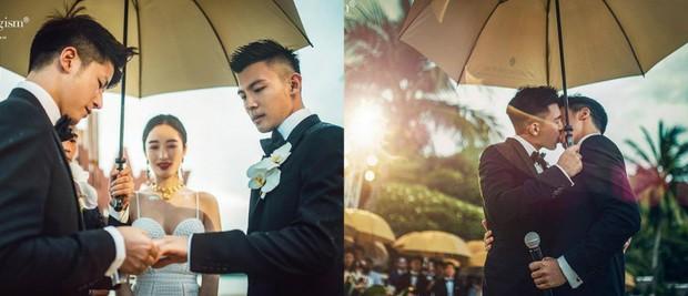 Vượt rào cản, nam doanh nhân sánh đôi cùng chàng trai nghèo trong đám cưới đẹp như cổ tích - Ảnh 2.