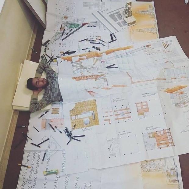 Bộ ảnh chứng minh chẳng gì đáng sợ hơn với sinh viên thiết kế đồ họa, mỹ thuật công nghiệp bằng mùa đồ án tới - Ảnh 11.
