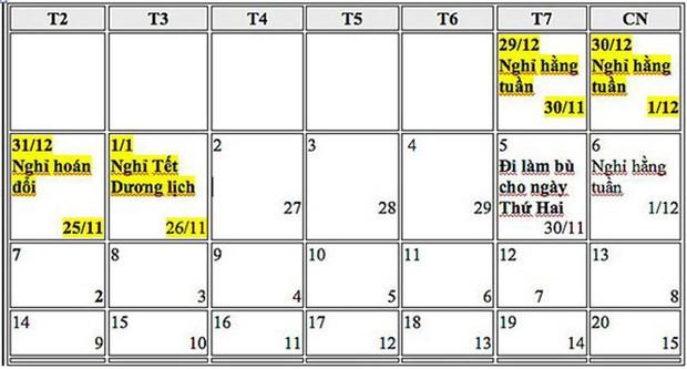 Chi tiết lịch nghỉ lễ các ngày trong năm 2019: Nghỉ Tết Nguyên đán 9 ngày - Ảnh 1.