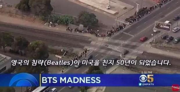 Tổ chức concert tại địa điểm khủng ở Mỹ, BTS được mệnh danh là The Beatles thế hệ mới - Ảnh 1.