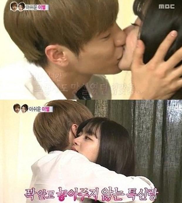 Leeteuk và những pha mùi mẫn cùng các bóng hồng Kpop trên show giải trí - Ảnh 5.