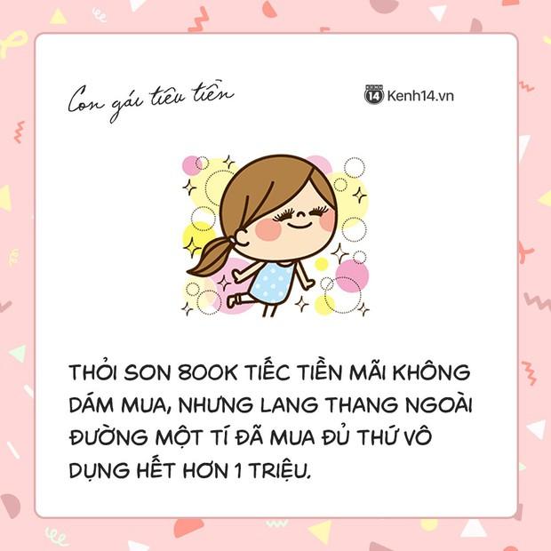 Con gái là chúa mâu thuẫn, đến cách tiêu tiền cũng khó hiểu vô cùng - Ảnh 1.