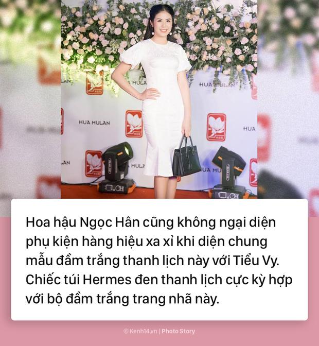 Hoa hậu Tiểu Vy và những pha đụng hàng với cả showbiz Việt - Ảnh 13.