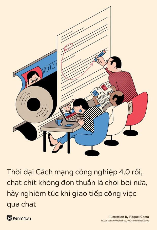 Chat không trả lời, mail không phản hồi: Đức tính tiêu biểu của những nhân viên đáng vứt đi - Ảnh 3.