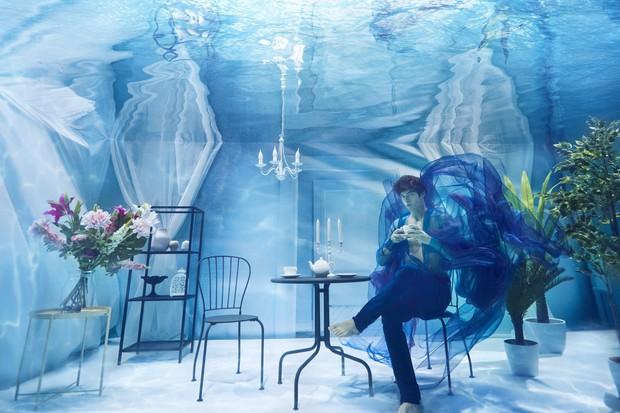 Chụp ảnh dưới nước, thí sinh Next Top Ba Lan không tránh khỏi biểu cảm trợn mắt như... chết trôi - Ảnh 7.