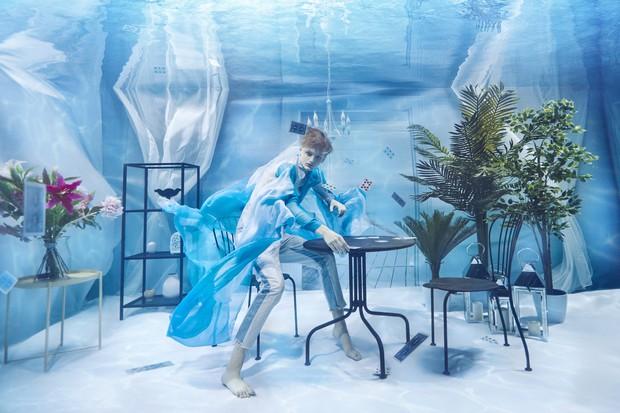 Chụp ảnh dưới nước, thí sinh Next Top Ba Lan không tránh khỏi biểu cảm trợn mắt như... chết trôi - Ảnh 6.