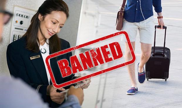 Bị hãng hàng không Saudia cấm lên máy bay vì mặc quần short, vị hành khách đã ứng biến nhanh theo cách này - Ảnh 1.