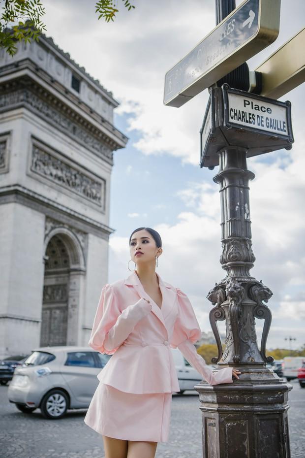 Hoa hậu Tiểu Vy gây dậy sóng MXH với thần thái đầy sắc sảo và thu hút trong bộ ảnh chụp tại Pháp - Ảnh 9.