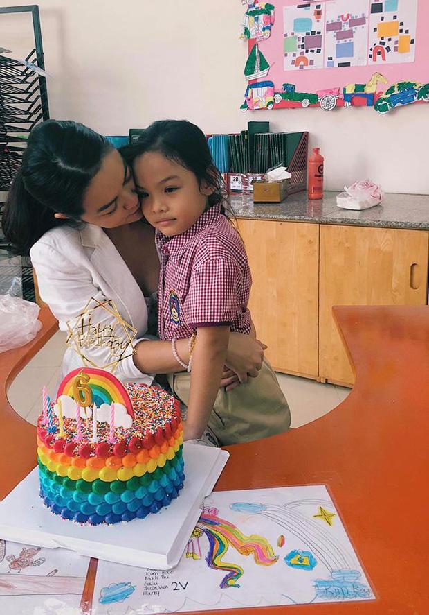 Phạm Quỳnh Anh và Quang Huy tái ngộ sau ly hôn, mừng sinh nhật con gái Tuệ Lâm tròn 6 tuổi - Ảnh 1.