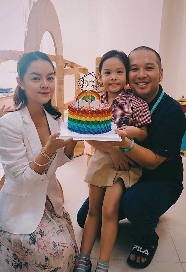 Phạm Quỳnh Anh và Quang Huy tái ngộ sau ly hôn, mừng sinh nhật con gái Tuệ Lâm tròn 6 tuổi - Ảnh 2.