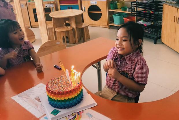 Phạm Quỳnh Anh và Quang Huy tái ngộ sau ly hôn, mừng sinh nhật con gái Tuệ Lâm tròn 6 tuổi - Ảnh 3.