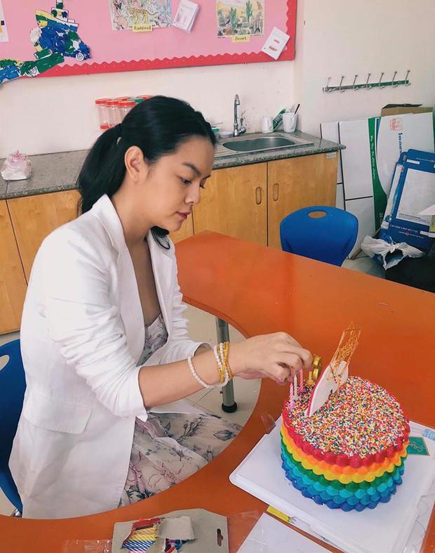 Phạm Quỳnh Anh và Quang Huy tái ngộ sau ly hôn, mừng sinh nhật con gái Tuệ Lâm tròn 6 tuổi - Ảnh 5.