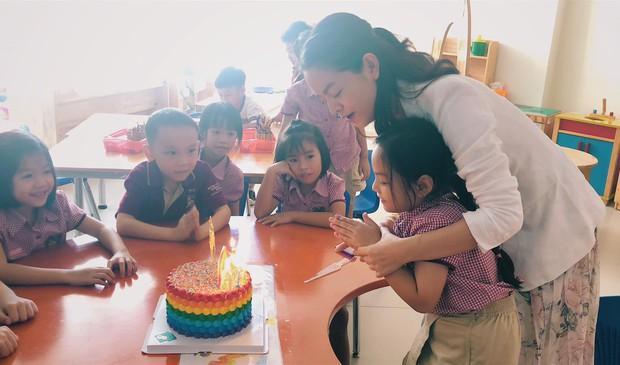 Phạm Quỳnh Anh và Quang Huy tái ngộ sau ly hôn, mừng sinh nhật con gái Tuệ Lâm tròn 6 tuổi - Ảnh 6.