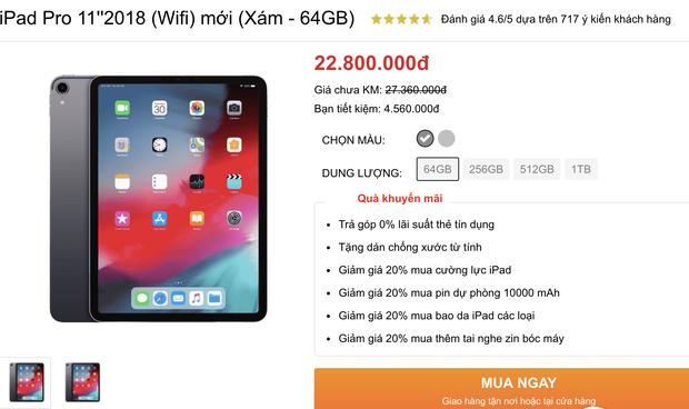 Công bố giá iPad mới tại VN: Bằng giá một chuyến đi Châu Âu ểnh ương cơ đấy! - Ảnh 2.