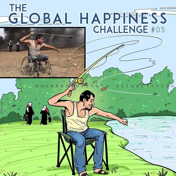 Họa sĩ Bangladesh biến những khoảnh khắc đau thương do chiến tranh thành những tác phẩm ngập tràn hạnh phúc - Ảnh 10.