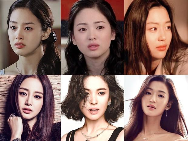Nhìn lại loạt ảnh quá khứ mới thấy, mỹ nhân Hàn ngày nay thì nhiều nhưng chưa ai vượt qua được 3 nữ thần này - Ảnh 1.