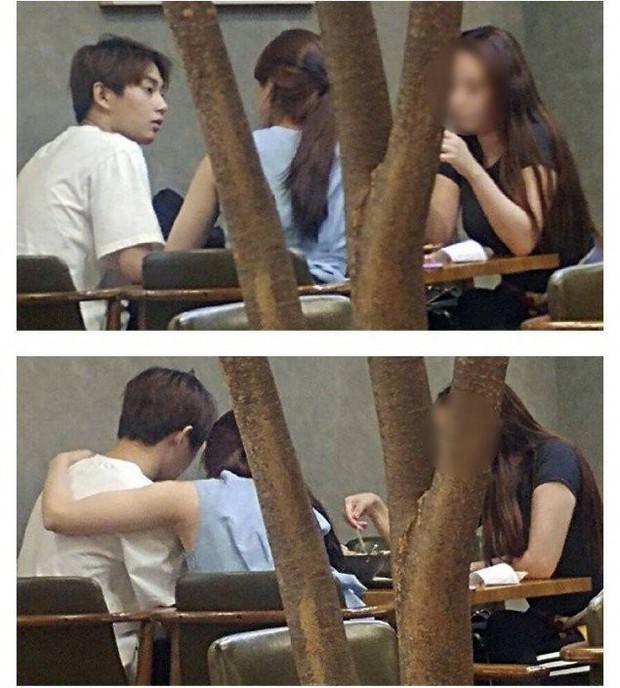 Lâu lắm mới có một cặp idol Kpop bị khui ảnh hẹn hò, lần này không phải Dispatch mà nhờ một fan bắt được - Ảnh 2.
