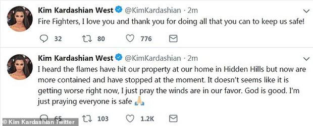 Tỉnh như Kim Kardashian: Hôm trước sơ tán tránh hỏa hoạn, hôm sau vẫn ra thẩm mỹ viện tiêm botox - Ảnh 1.