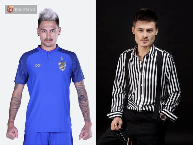 Tuyển thủ Thái Lan ở AFF Cup 2018 giống hệt hiện tượng Hoa Vinh - Ảnh 1.