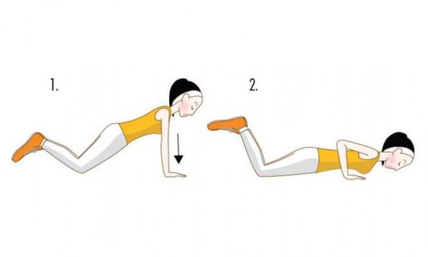 Bắp tay nhỏ gọn lại rõ rệt nếu thực hiện 4 động tác đơn giản sau đây thường xuyên - Ảnh 2.