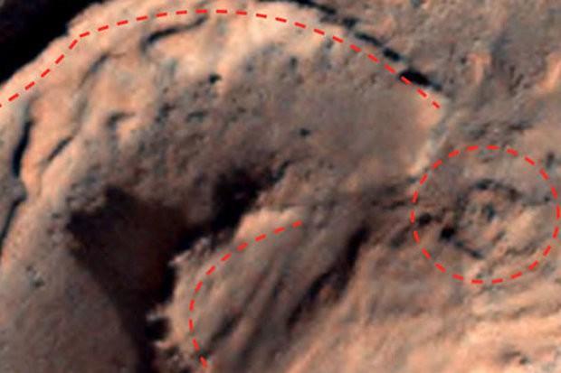 Cấu trúc cổ nghi là bằng chứng của nền văn minh cổ đại trên sao Hỏa - Ảnh 1.