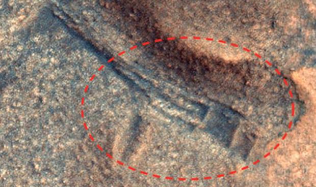 Cấu trúc cổ nghi là bằng chứng của nền văn minh cổ đại trên sao Hỏa - Ảnh 2.