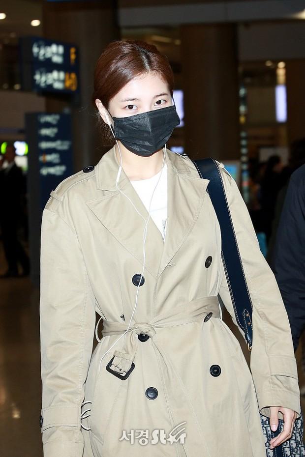 Yoona và Suzy tình cờ đụng độ tại sân bay: Người gây choáng vì mặt mộc quá đẹp, kẻ gầy vẫn đẹp như mơ - Ảnh 7.