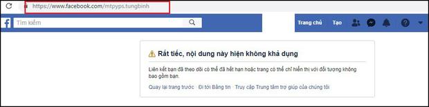 Facebook cá nhân Sơn Tùng M-TP và Linh Ngọc Đàm biến mất, nhiều người khác bị khóa tài khoản - Ảnh 1.