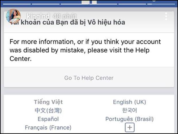 Facebook cá nhân Sơn Tùng M-TP và Linh Ngọc Đàm biến mất, nhiều người khác bị khóa tài khoản - Ảnh 4.