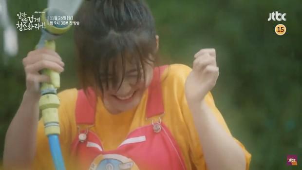 Kim Yoo Jung khiến dân tình hết hồn với tạo hình mới trong Clean with Passion for Now - Ảnh 11.