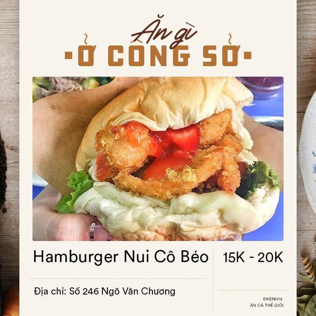 Dân văn phòng ở Hà Nội sáng mai có vội đi làm thì đừng bỏ qua 4 địa chỉ bán hamburger đầy đặn mà giá chỉ từ 15k dưới đây - Ảnh 10.