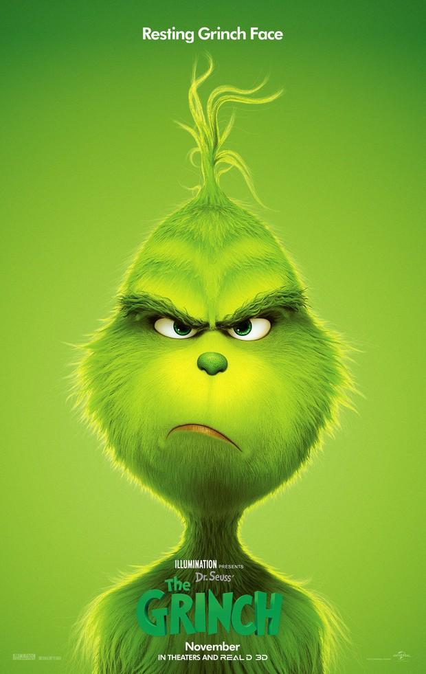 Vơ vét 66 triệu USD doanh thu mở màn, tiểu quỷ xanh lè Grinch náo loạn phòng vé cuối tuần - Ảnh 2.