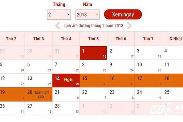 Lịch nghỉ tết 2019: Tết dương lịch và Tết Nguyên đán được nghỉ dài hơn - Ảnh 5.
