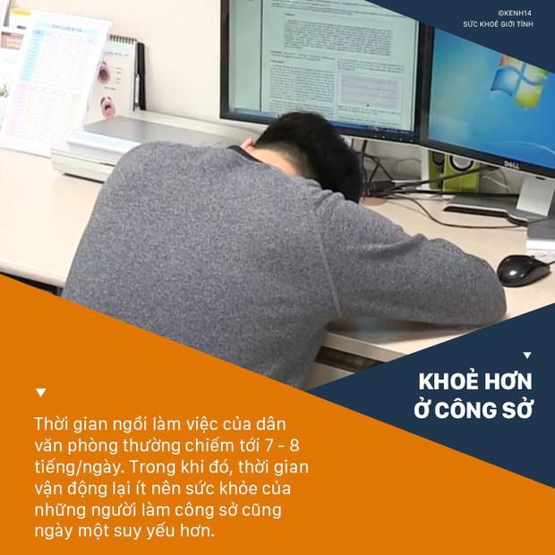 Đài truyền hình Hàn Quốc cảnh báo những thói quen xấu thường gặp ở dân văn phòng và cách khắc phục nhanh chóng - Ảnh 1.